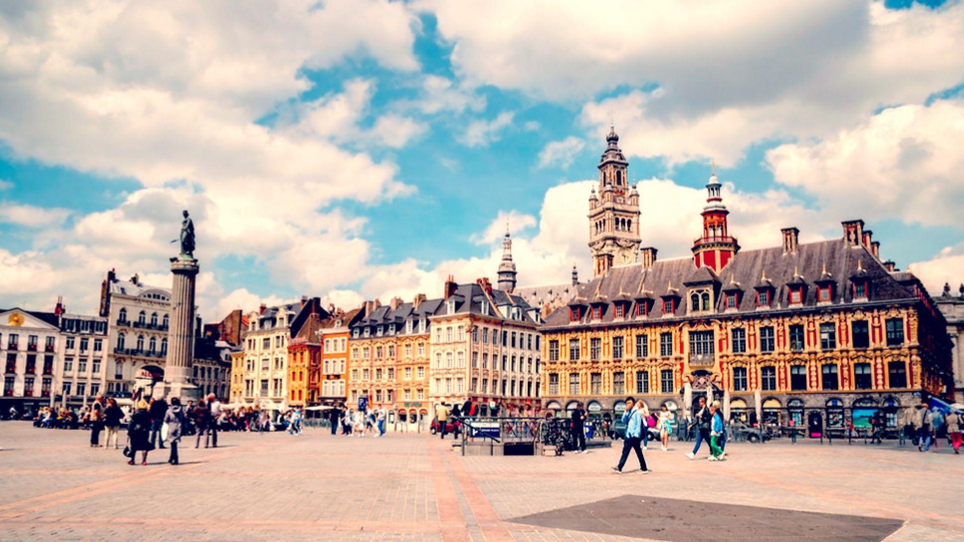 Voyage : de Versailles à Lille