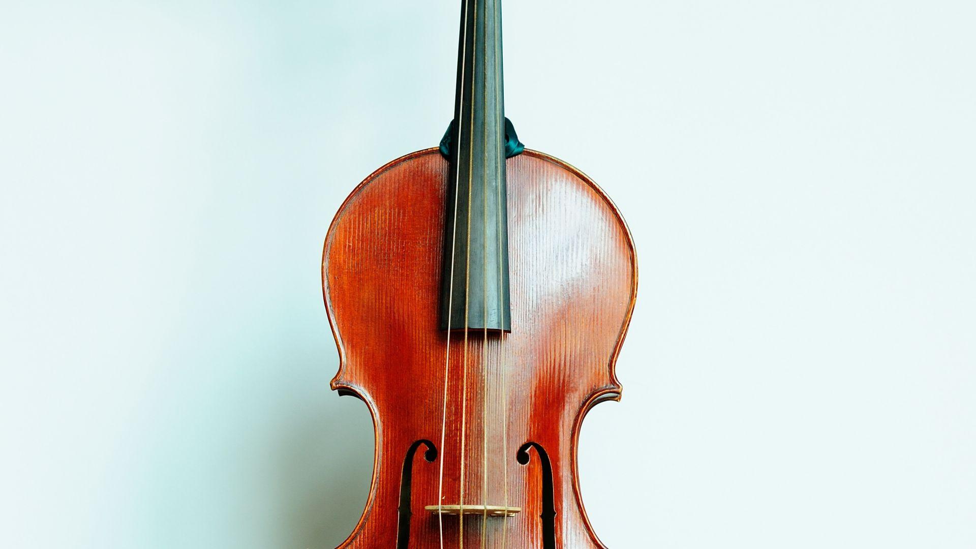 Violon baroque français reconstitué par le CMBV