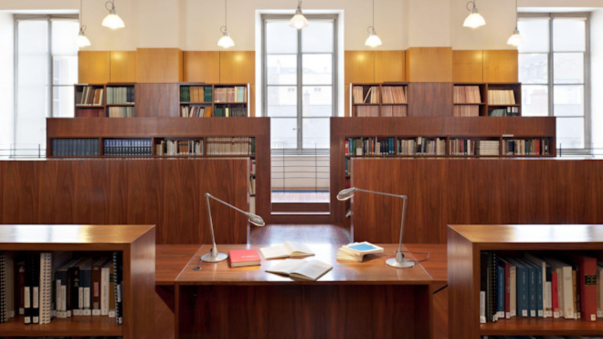 Bibliothèque du CMBV vue d'ensemble