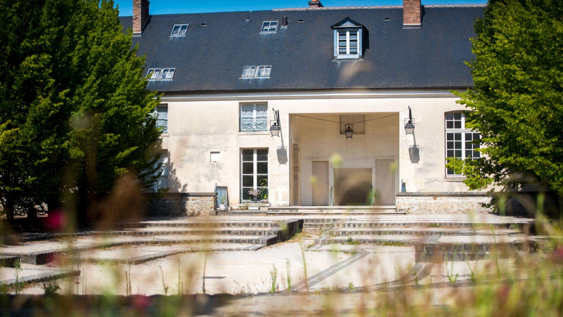 Cour intérieure de l'Hôtel des Menus-Plaisirs