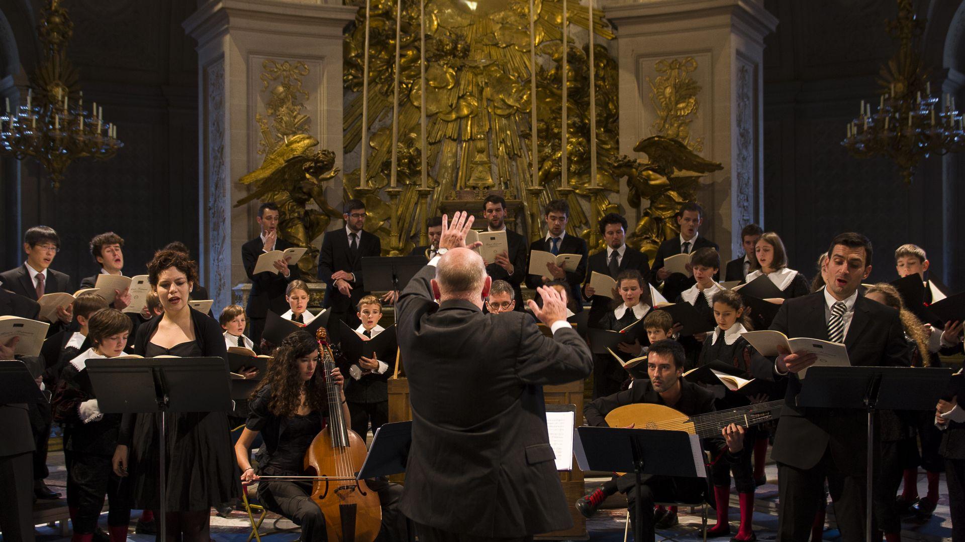 Jeudi musical de la Maîtrise du CMBV à la Chapelle Royale