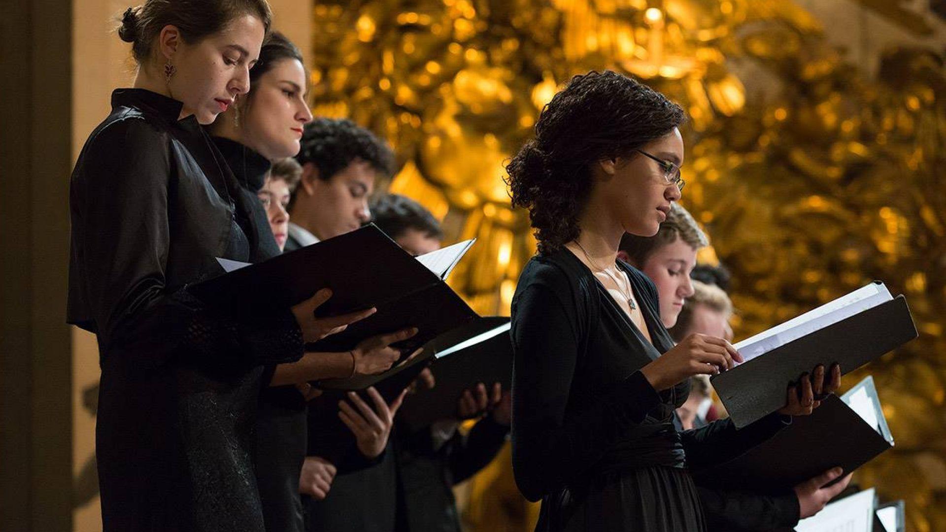 Demi-finale du 9e concours international de jeunes chefs de chœur