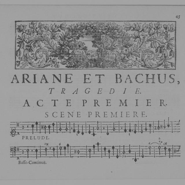 Ariane et Bacchus