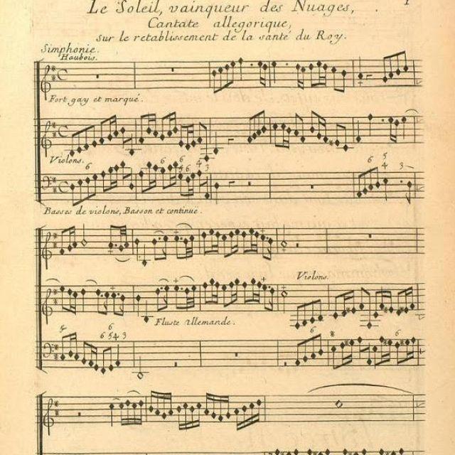 La cantate en France au XVIIIe siècle, projet de recherche du CMBV