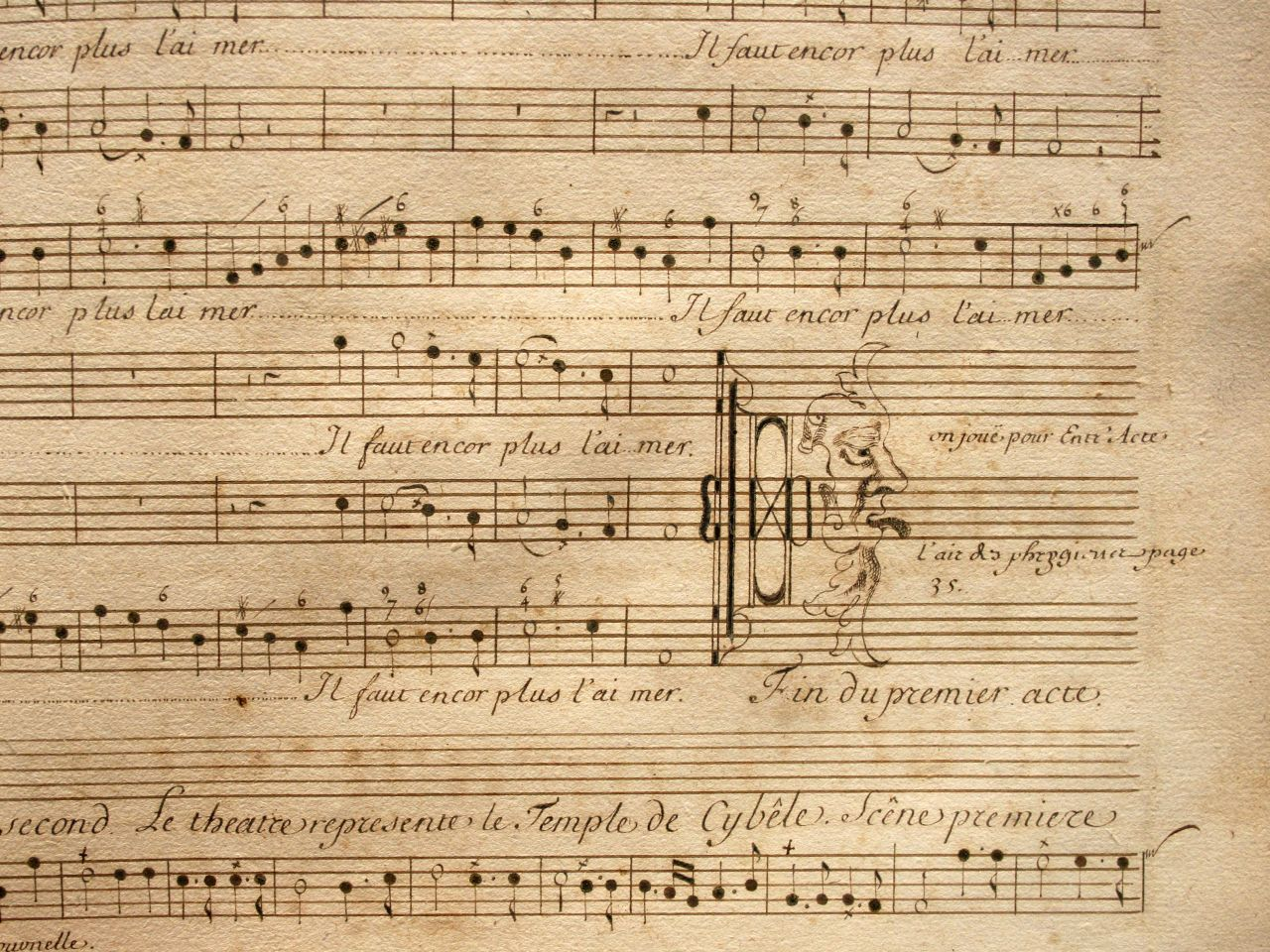Les premiers ateliers français de copistes en musique