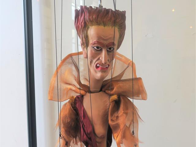 Hyppolite et Aricie, La Furie, marionnette, parodie
