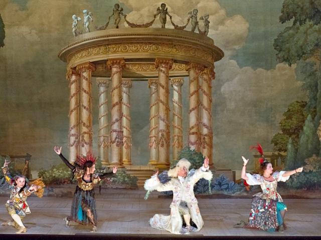 MOZART - Les Petits Riens - Versailles, Opéra royal, 2006 - costumes - CMBV