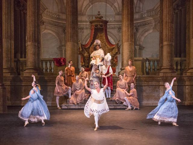 NOVERRE - Médée et Jason - Versailles, Opéra royal, 2012 - costumes - CMBV