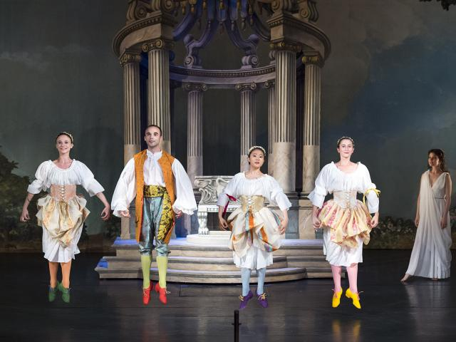 RAMEAU - Pygmalion - Potsdam, Hans Otto Theater, 2016 - costumes - CMBV