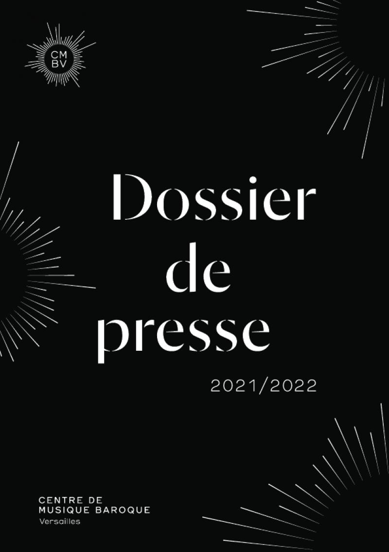 Dossier de presse CMBV, saison 2021 - 2022
