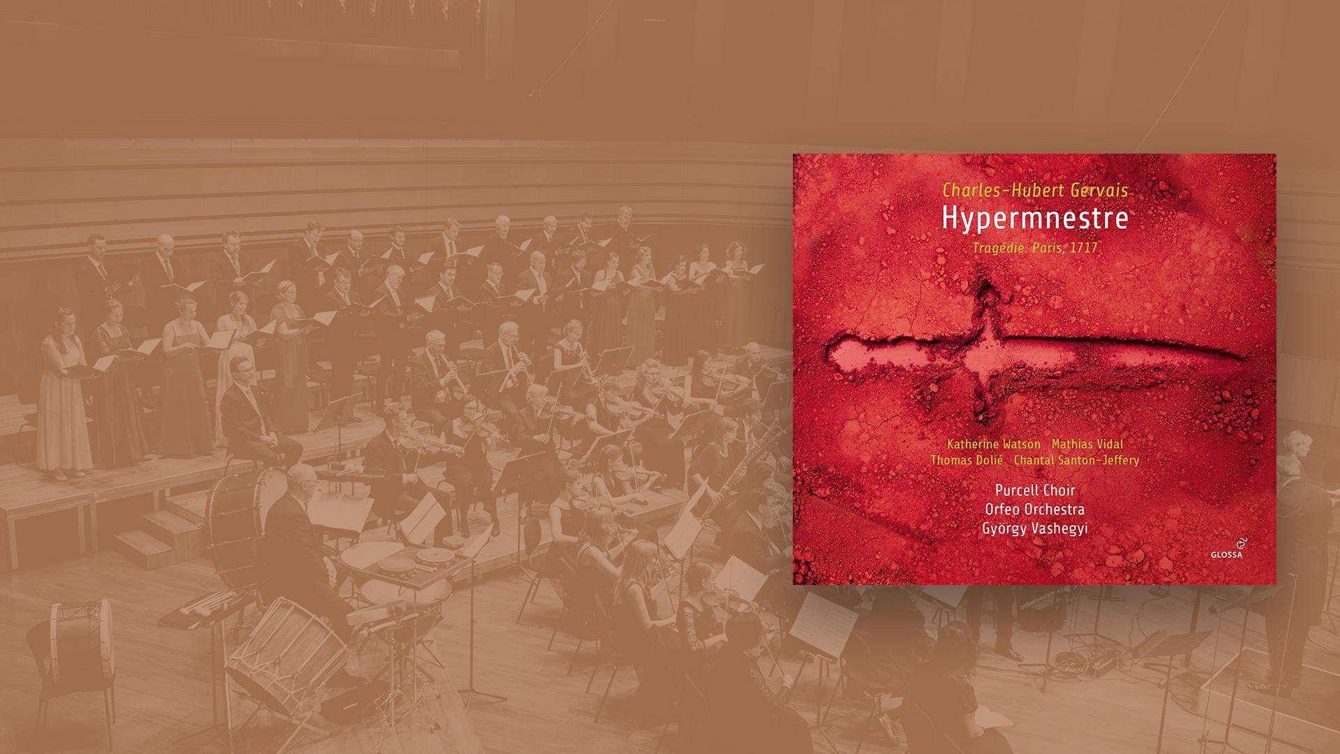 Sortie CD : Hypermnestre de Gervais