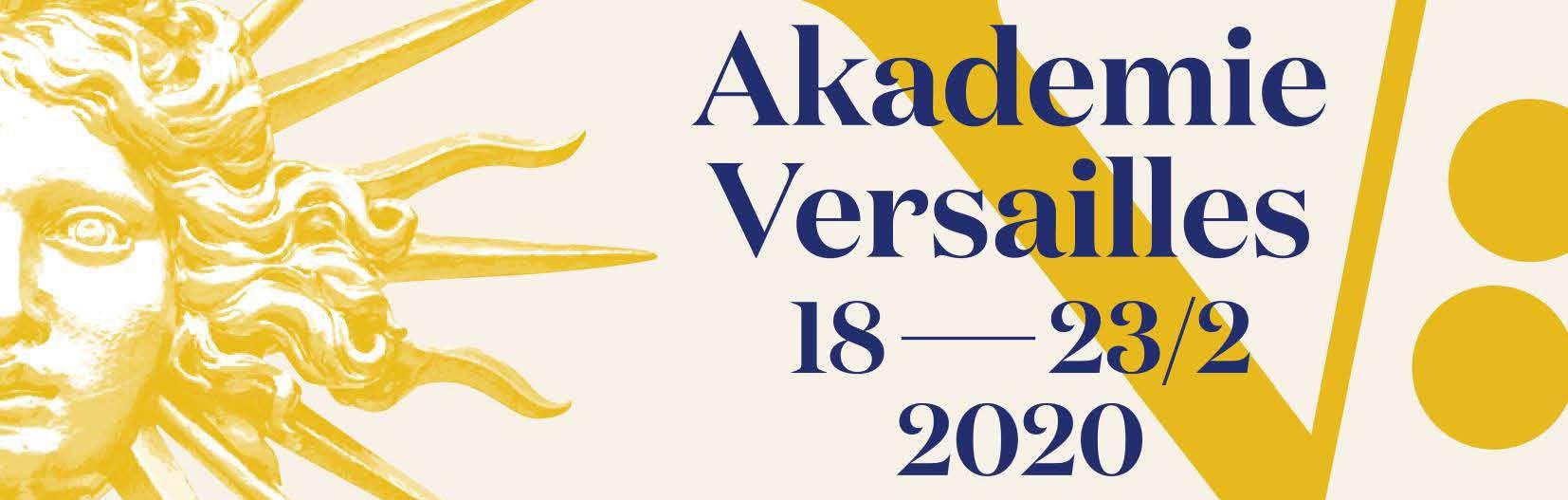 Inscription : Akademie Versailles 2020